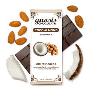Gnosis Organic Dark Chocolate:  Coco Almond