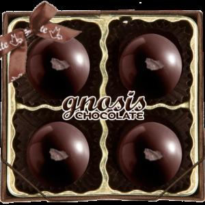 Gnosis Organic Dark Chocolate:  Dark Velvet Truffles