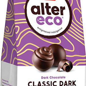 Alter Eco:  Classic Dark Chocolate Truffles  4.2 oz bag