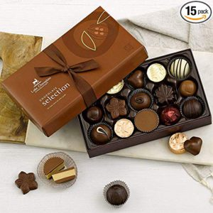 Lake Champlain Gourmet Chocolate Assortment Gift Box, 15 Pieces, 9 Ounces