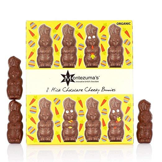 Organic Cheeky Bunnies Milk Chocolate