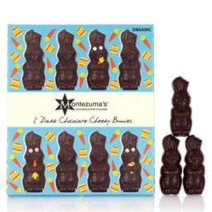 Montezuma's Chocolate – Organic Dark Chocolate Cheeky Bunnies (3.2 Oz)