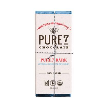 Pure7 Chocolate Bar - 80% Cacao