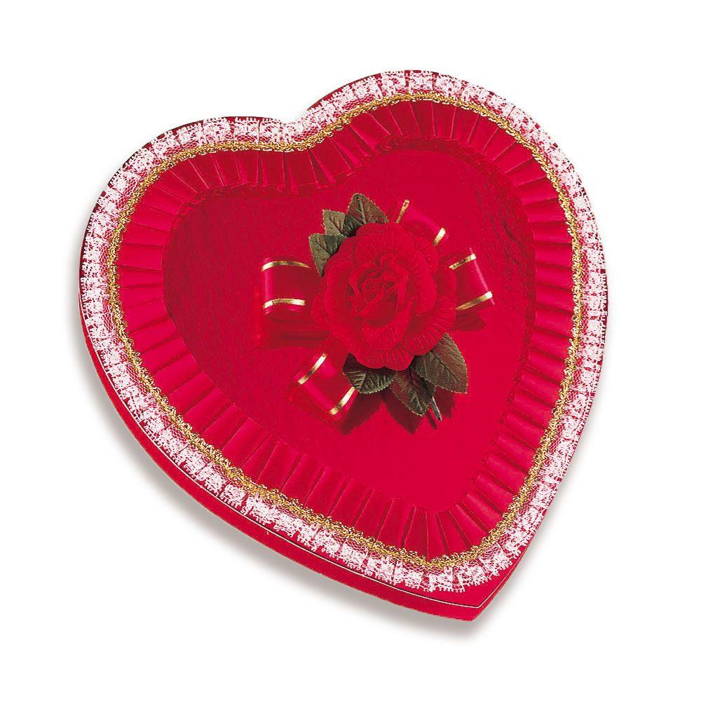 RS_Red Fancy Foil Heart, 16 oz.