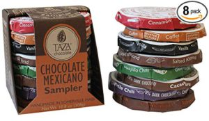 Taza Chocolate - Mexicano Disc - Variety Pack - 8 Count