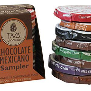 Taza Chocolate | Mexicano Disc | Variety Pack | Stone Ground | Certified Organic | Non-GMO | 1.35 Ounce (8 Count) – FREE SHIPPING w/Prime