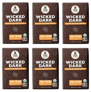 Taza Chocolate Wicked Dark - 2.5 Ounce - 6 Count