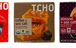 Tcho Fair Trade Chocolate Bars 3 Flavor Gift Bundle, 1 each: Triple Berry Dark, Toffee Sea Salt Dark Milk, Almond Sea Salt Dark (2.5 Ounces) – FREE SHIPPING