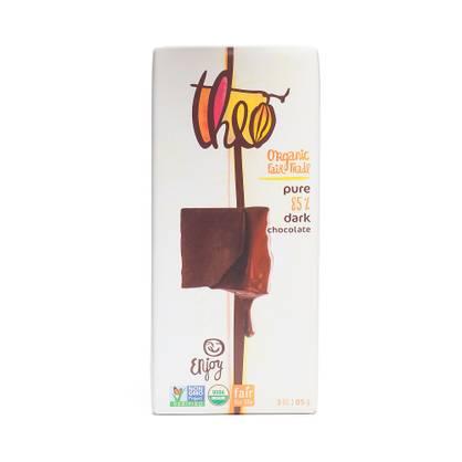 Theo Organic Dark Chocolate- 85% Cocoa