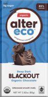 Alter Eco - Dark Blackout - 85% Pure Dark Cocoa