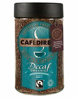 Cafedirect Fairtrade Organic Decaffeinated Instant Coffee – 3.53 oz. (100g) – FREE SHIPPING