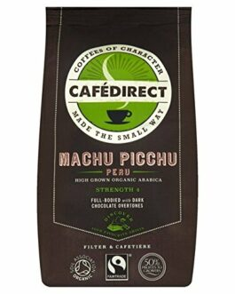 Cafedirect Fairtrade Organic Machu Picchu Coffee – 8 oz (227g) – FREE SHIPPING