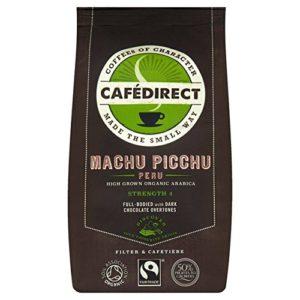 Cafedirect Fairtrade Organic Machu Picchu Coffee – 8 oz (227g) – FREE SHIPPING