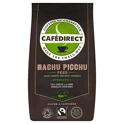 Cafedirect Fairtrade Organic Machu Picchu Coffee - 227g