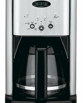 Cuisinart DCC-1200 Brew Central 12 Cup Programmable Coffeemaker, Black/Silver – FREE SHIPPING w/Prime