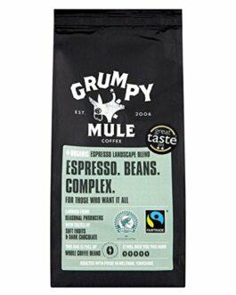 Grumpy Mule Organic Espresso Beans – 8 oz. (227g) – FREE SHIPPING