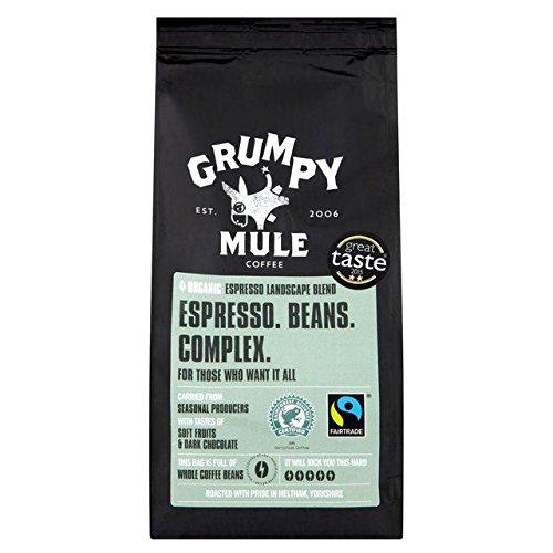 Grumpy Mule Organic Snapshot Espresso Whole Bean Coffee - 2 pounds (907 grams)