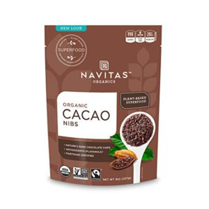 Navitas Organics Cacao Nibs, 8 oz. (227g) Bag – FREE SHIPPING w/Prime
