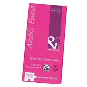 Seed and Bean – Organic Fairtrade Rich Milk Chocolate Bar – 3 oz. (85g) – FREE SHIPPING
