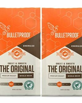 Bulletproof Whole Bean – 12 oz – Pack of 2 – FREE SHIPPING w/Prime