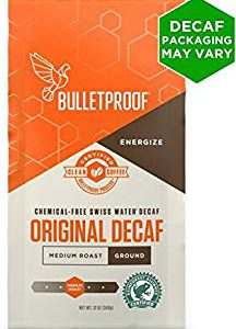 Bulletproof, Coffee The Original Decaffeinated Ground, 12 Ounce – FREE SHIPPING w/Prime