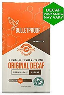Bulletproof, Coffee The Original Decaffeinated Ground, 12 Ounce