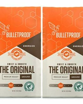 Bulletproof Ground Coffee 12oz (Pack of 2) – FREE SHIPPING  w/Prime