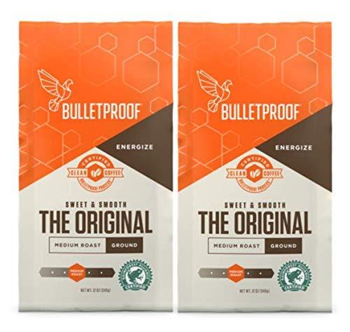 Bulletproof Ground Coffee 12oz (Pack of 2)