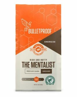 Bulletproof The Mentalist Ground Coffee – Premium Gourmet Medium Dark Roast Organic Beans – FREE SHIPPING w/Prime
