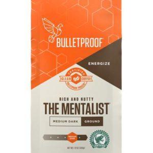 Bulletproof The Mentalist Ground Coffee – Premium Gourmet Medium Dark Roast Organic Beans – FREE SHIPPING w/Prime