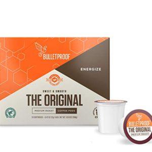 Bulletproof The Original Roast Coffee Pods, Premium Medium,Single-Serve K Cups, Works With Keurig 2.0 – FREE SHIPPING w/Prime