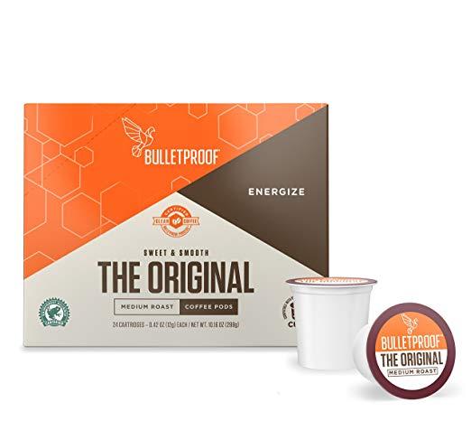 Bulletproof The Original Roast Coffee Pods, Premium Medium Roast