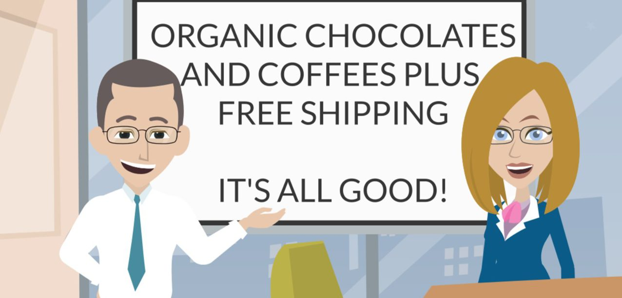 Organic Coffees and Chocolates Plus FREE SHIPPING – It's All Good!