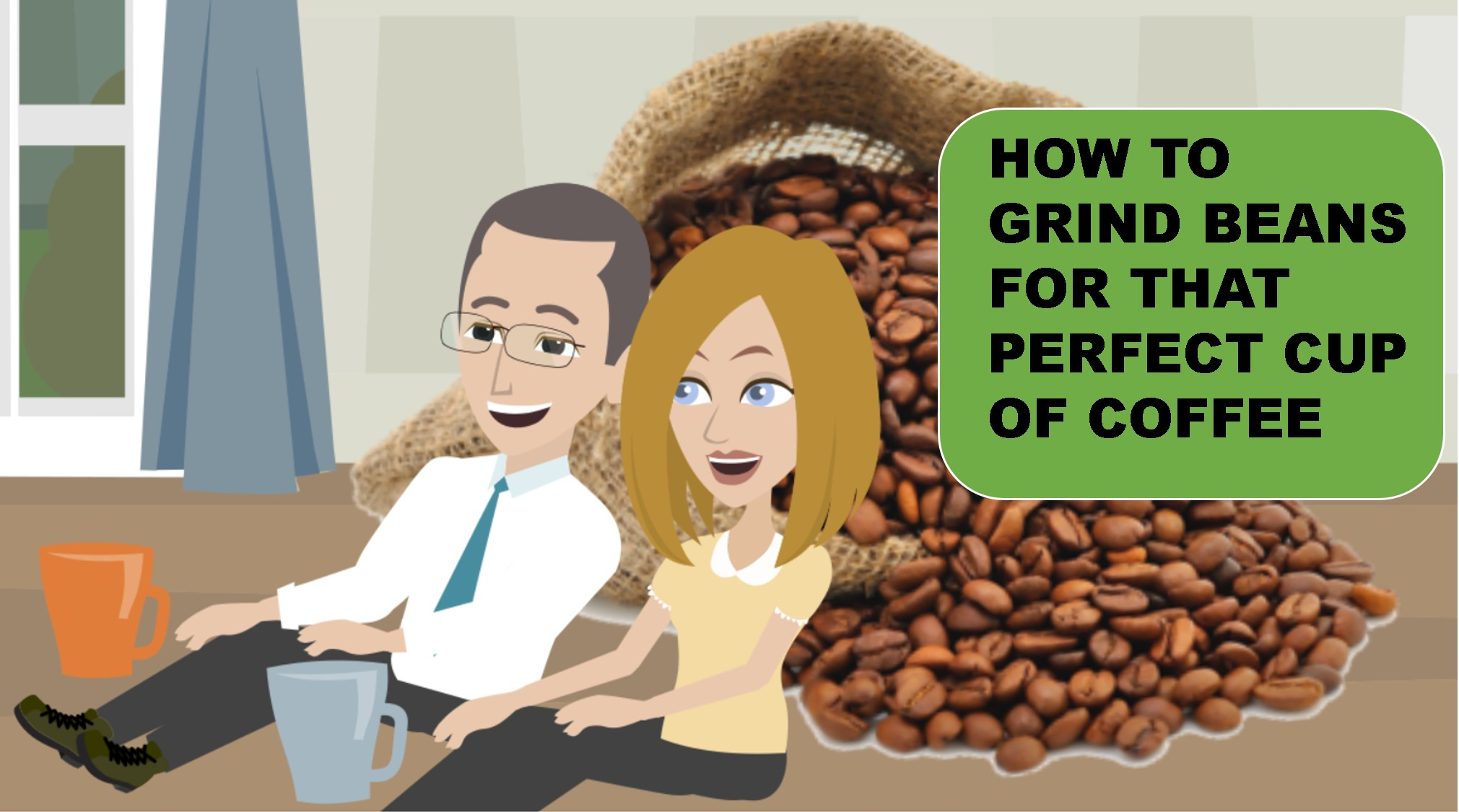 How to grind coffee thumbnail