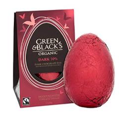 Green & Black's Organic 165g Dark Easter Egg