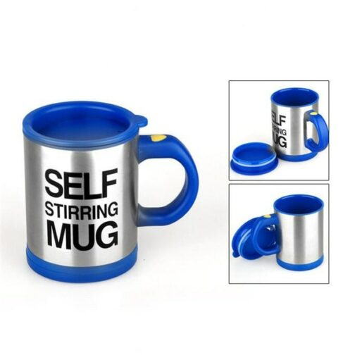 Blu Self-stirring Mug
