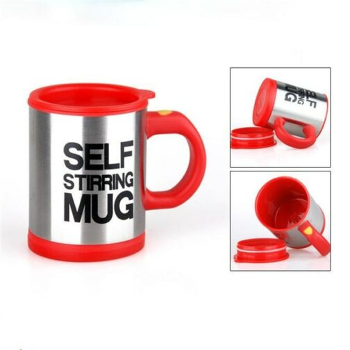 Red Self-stirring Mug