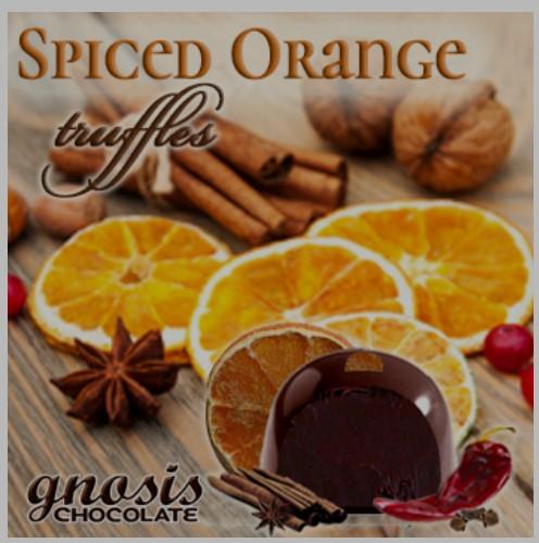 Spiced Orange Truffles