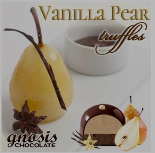 Vanilla Pear Truffles